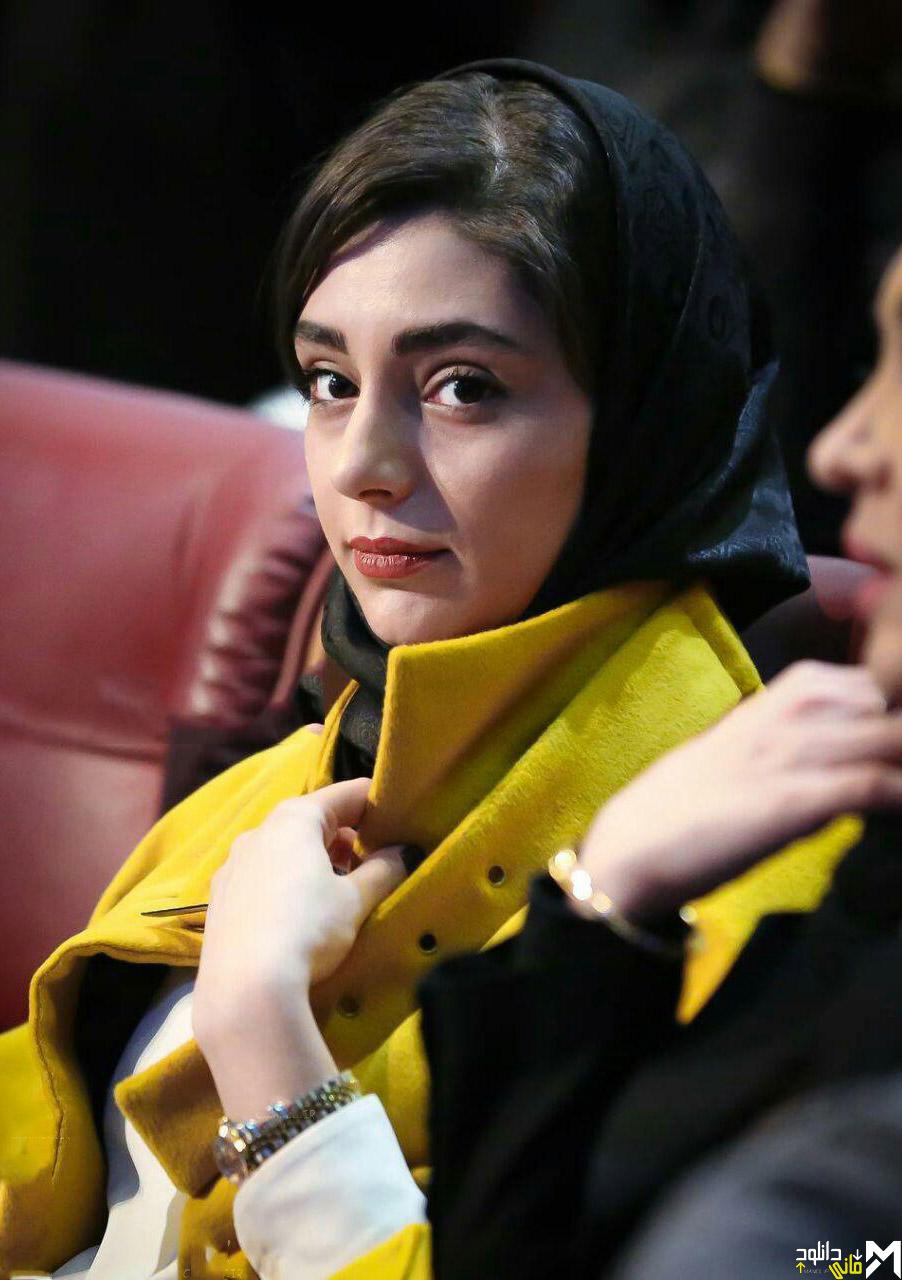 هستی مهدوی فر در افتتاحیه جشنواره 35 فیلم فجر