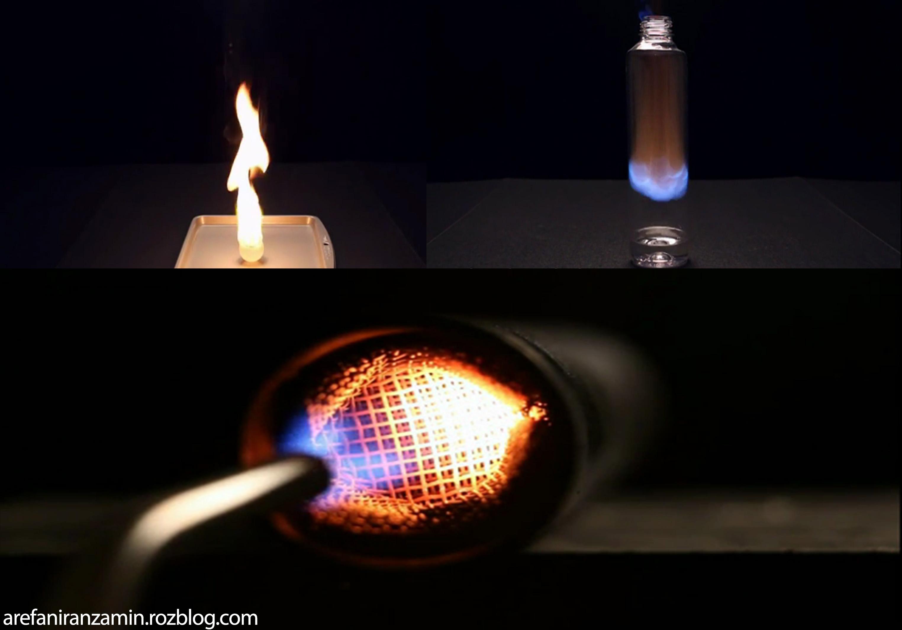 کلیپ ده آزمایش بسیار جالب ودیدنی با شعله