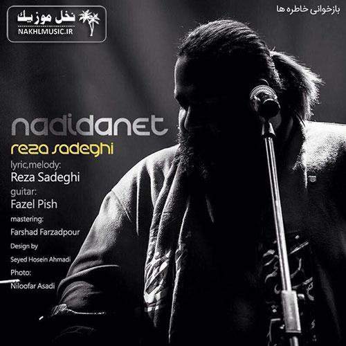 آهنگ جدید و بسیار زیبا و شنیدنی از رضا صادقی بنام ندیدنت