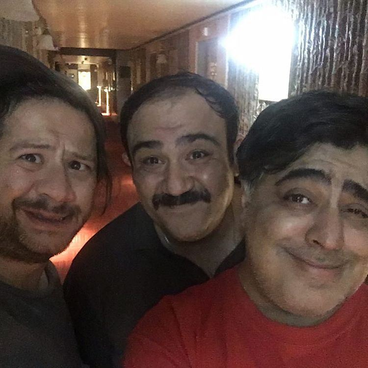 علی صادقی - مهران غفوریان - رضا شفیعی جم