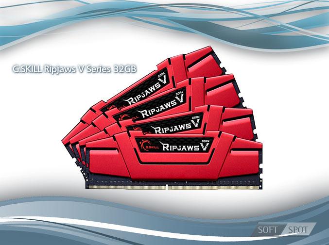G.SKILL Ripjaws V Series 32GB (4 x 8GB) DDR4 3000 (PC4 24000)