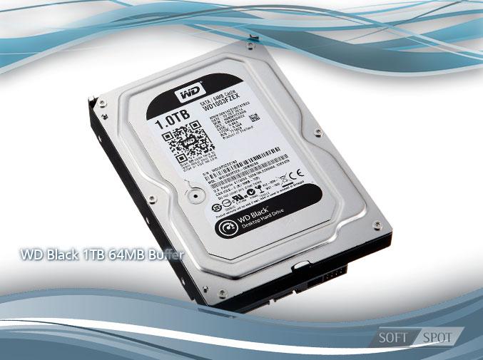 WD Black 1TB 64MB Buffer WD1003FZEX