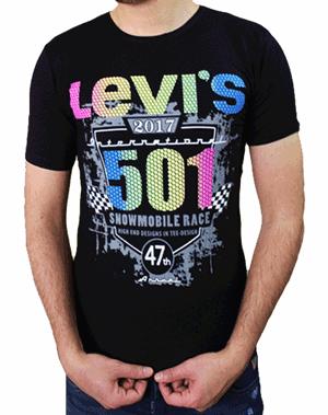 تیشرت مردانه LEVIS مدل 501