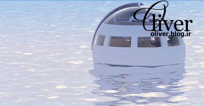 هتل ژاپنی که روی آب شناوره و آزادانه حرکت میکنه