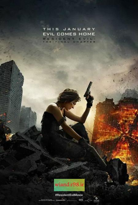 دانلود فیلم Resident Evil The Final Chapter 2016