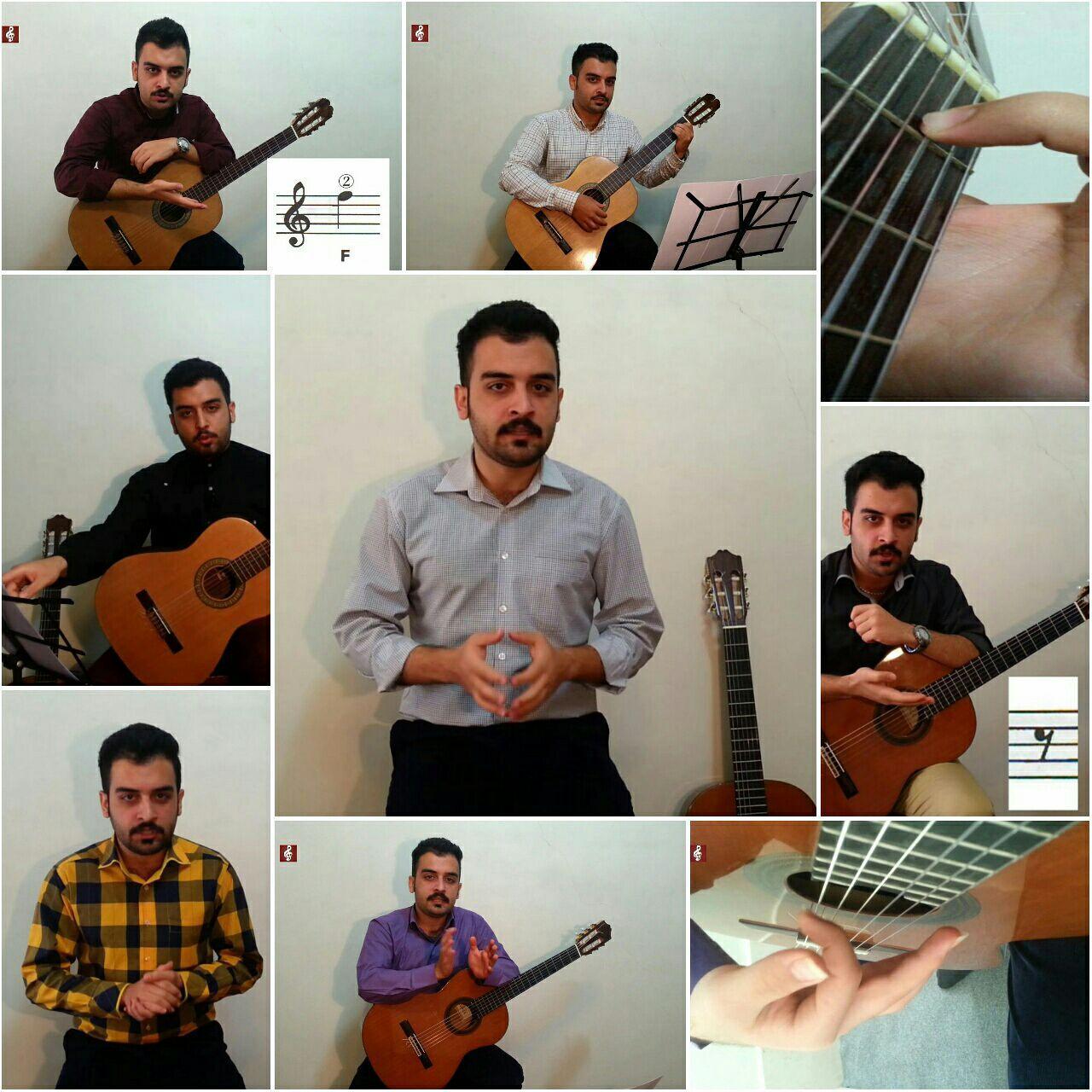 اجرای هنرآموز مجموعه صفر تا صد گیتار با علیرضا نصوحی آقای محمد صمدی
