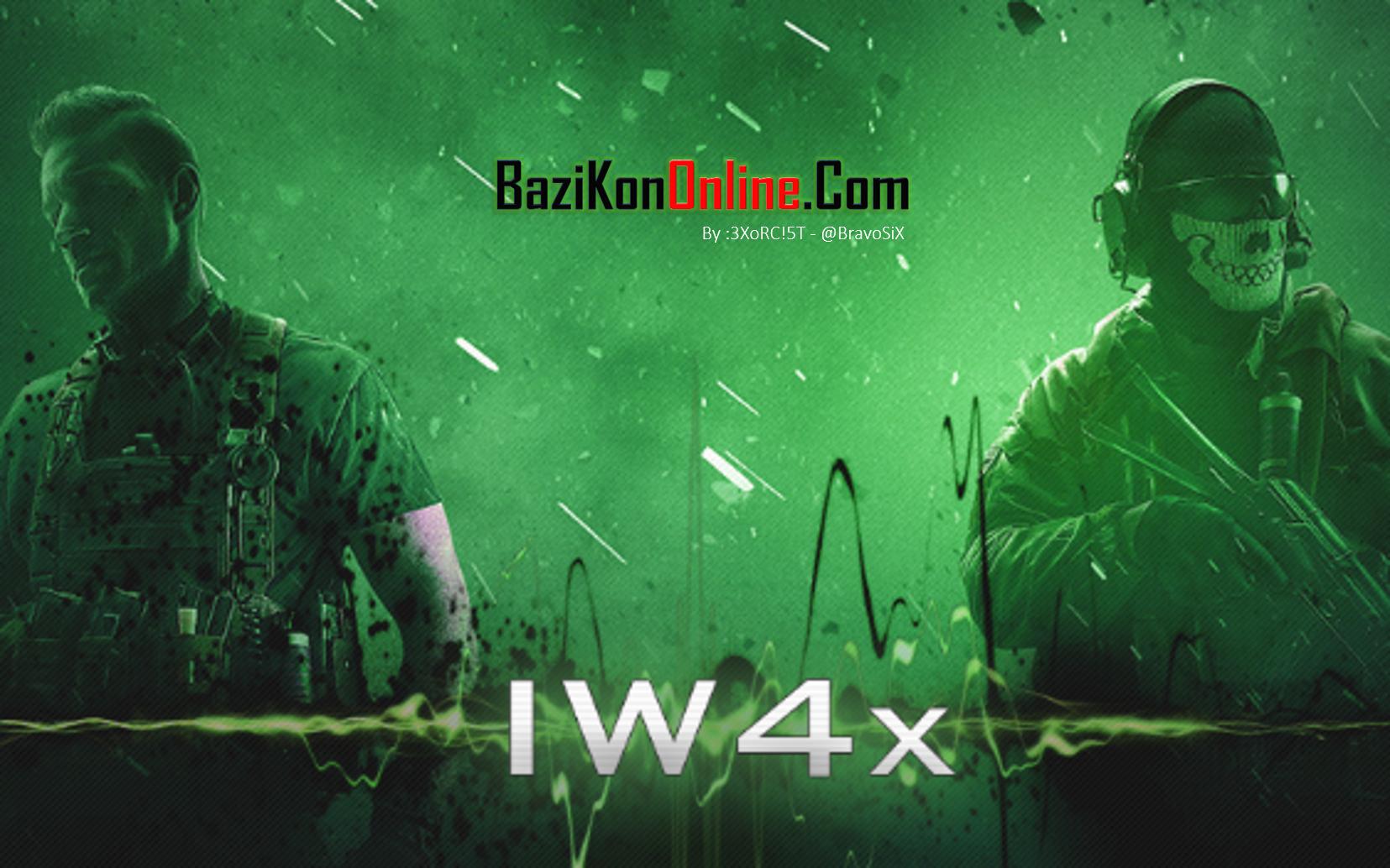 آنلاین کردن MW2 به روش iW4x