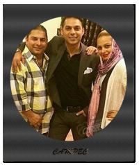 عکس جدید پیمان معادی با خواهر و برادرش