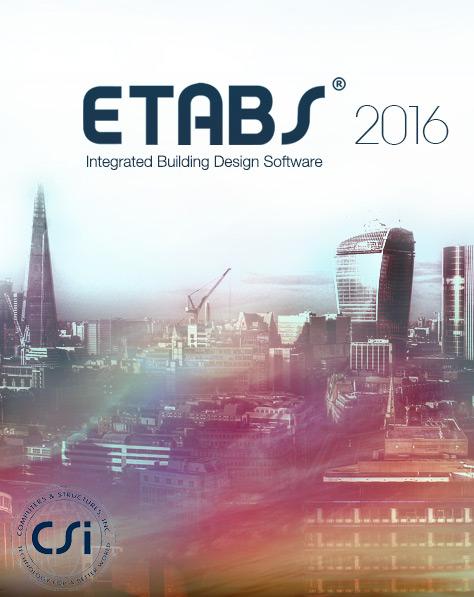 دانلود نسخه های 32 و64 بیتی ETABS 2016