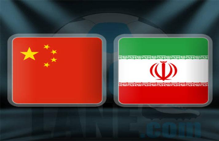 پخش زنده و انلاین بازی ایران و چین