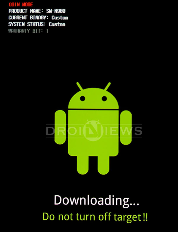 samsung phone and tablet download mode