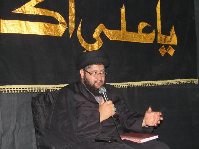 مراسم شهادت امام علی النقی (علیه السلام ) در محله صادقیون رفسنجان