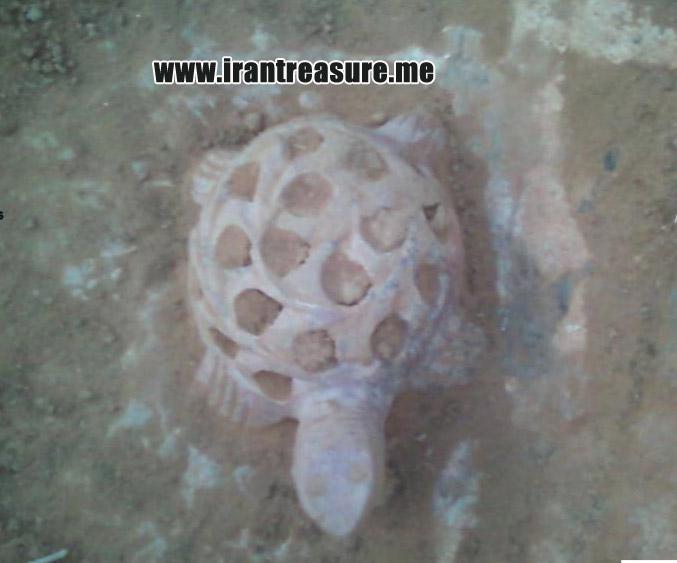 kap954 نشانه لاکپشت در دفینه یابی و گنج یابی