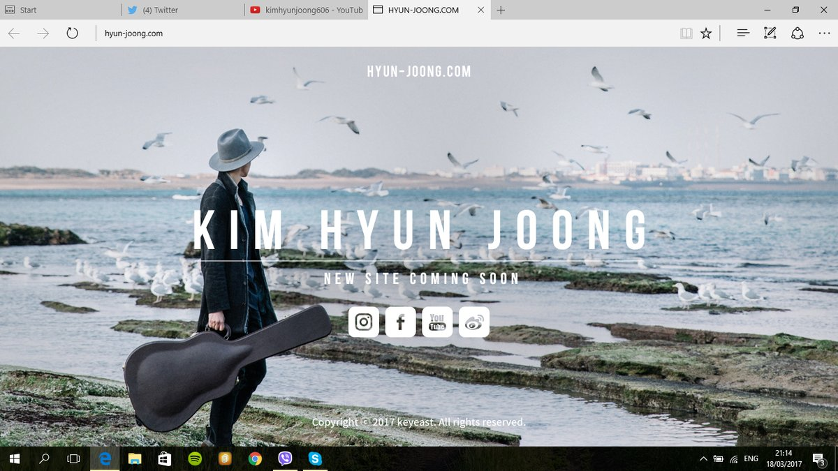 Only at www.hyun-joong.com you can enter Official and Real IG Weibo FB YT of KHJ