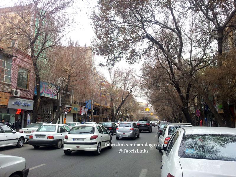 خیابان دیدنی تبریز