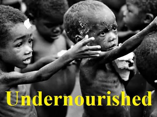 Undernourished – آموزش لغات کتاب ۵٠۴ – English Vocabulary – کدینگ لغات ۵٠۴