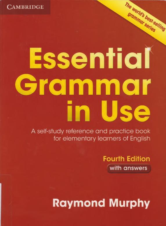 دانلود کتاب Essential Grammar In Use 4th