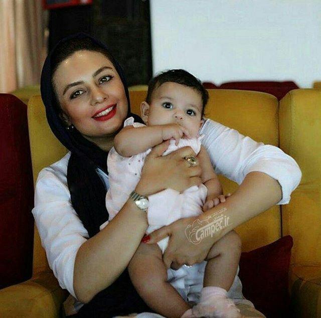 یکتا ناصر به همراه دخترش سوفیا