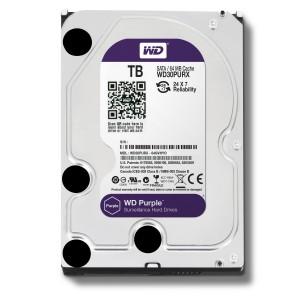 هارد دیسک اینترنال وسترن دیجیتال سری بنفش ظرفیت 1 ترابایت + 64 مگابایت کش