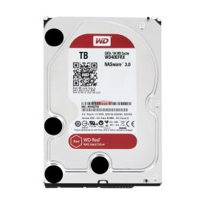 هارد دیسک اینترنال وسترن دیجیتال سری قرمز ظرفیت 6 ترابایت + 64 مگابایت کش