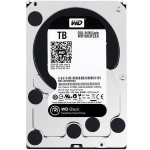 هارد دیسک اینترنال وسترن دیجیتال سری مشکی مدل WD1003FZEX ظرفیت 1 ترابایت