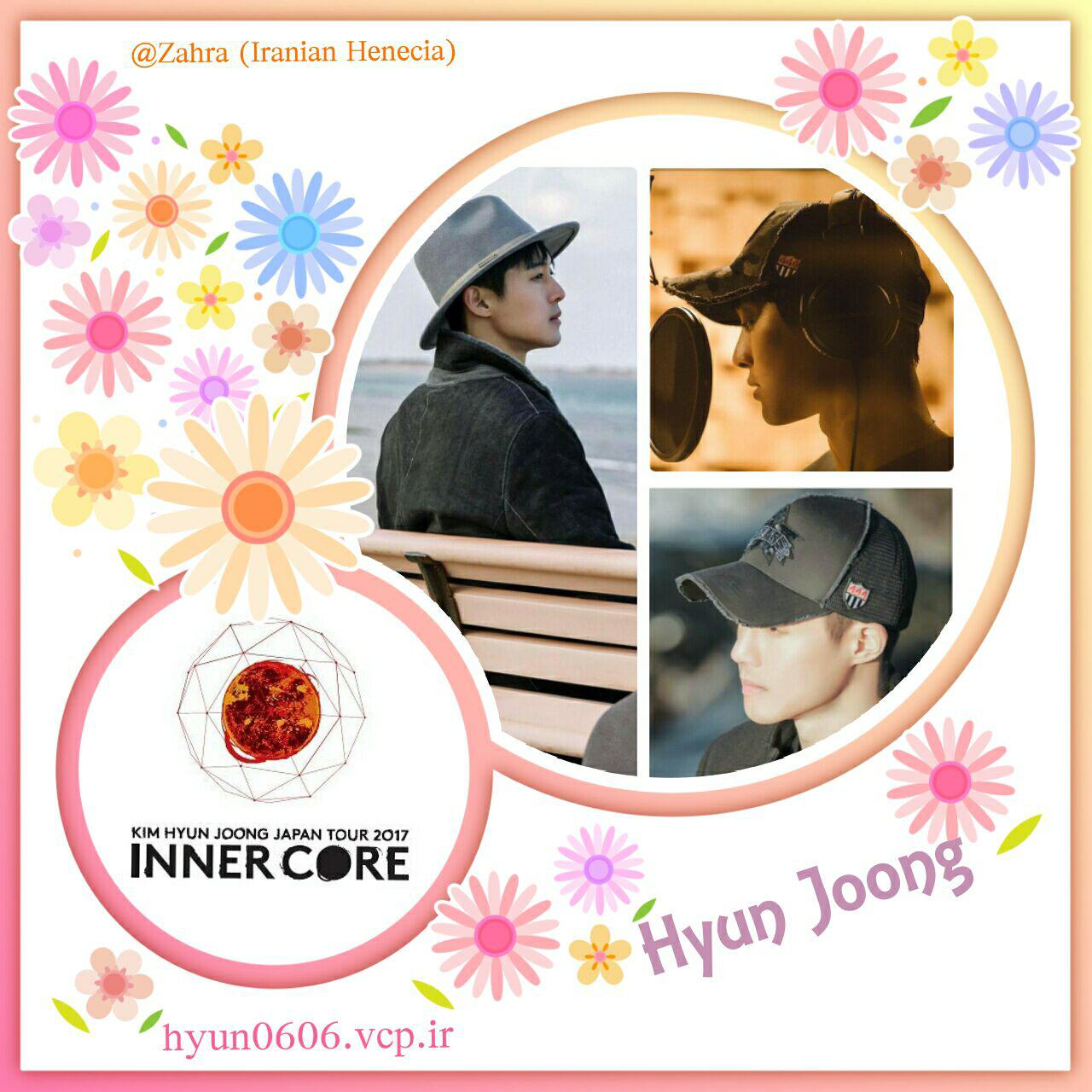 My Fanart of Kim Hyun Joong Japan Tour 2017 Inner Core