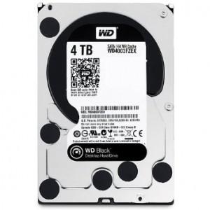 هارد دیسک اینترنال وسترن دیجیتال سری مشکی مدل WD1003FZEX ظرفیت 4 ترابایت