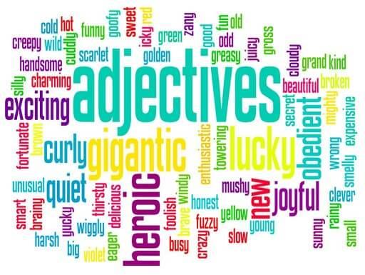 صفات - Adjectives