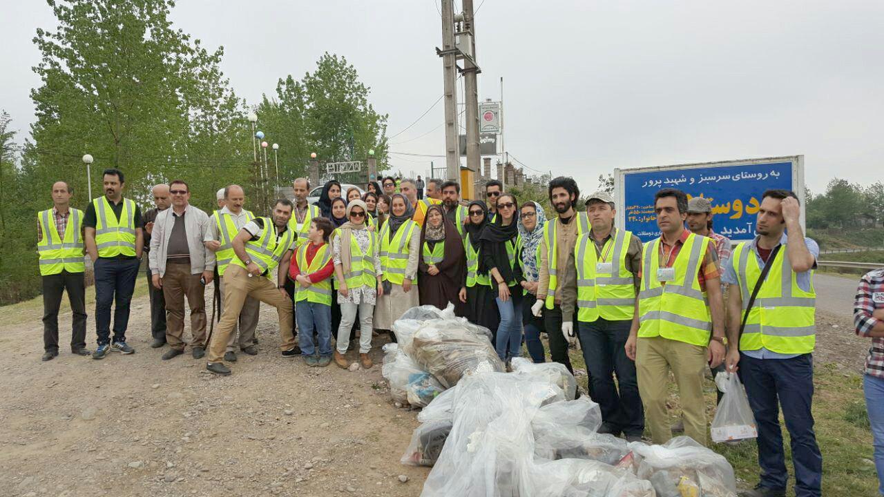 برگزاری ویژه برنامه بوم پژوهان گیلان پاک به مناسبت روز جهانی زمین پاک