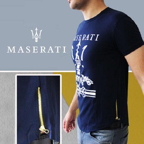 تیشرت سرمه ای مردانه مازراتی Maserati