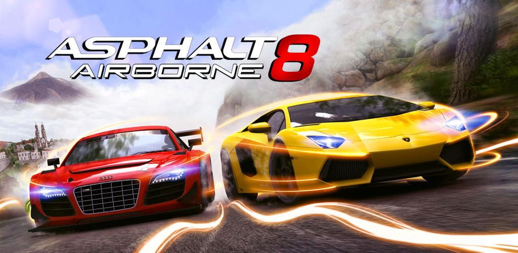 دانلود Asphalt 8: Airborne 3.0.0l – آخرین ورژن بازی آسفالت ۸ اندروید + مود