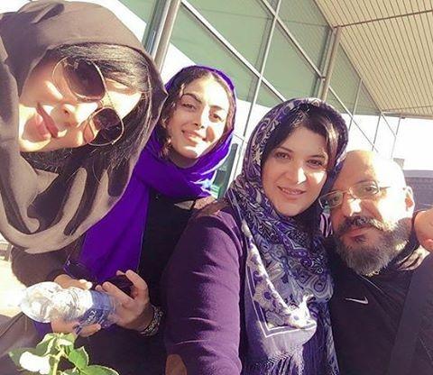 عکس زیبا امیر جعفری و ریما رامین فر به همراه لیلا بلوکات