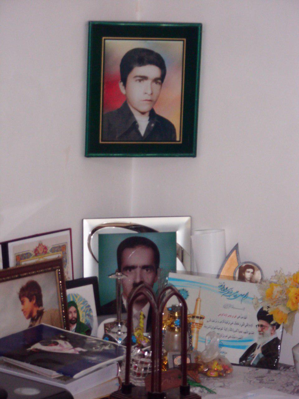 شهیدعلی اصغرفلاح خانه سر