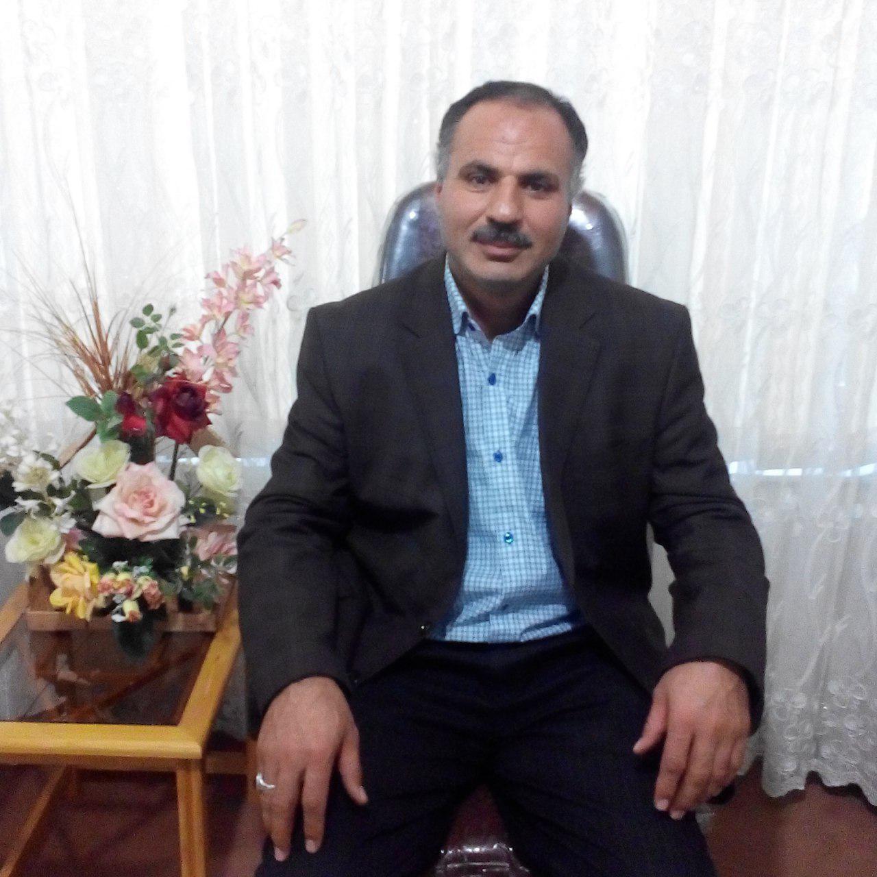 برادر جانباز احد علی زاده - میاب