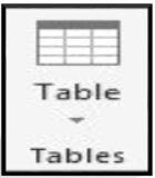 پالت tables