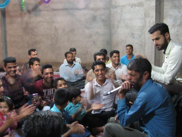 مراسم بزرگداشت میلاد حضرت علی اکبر و روز جوان در محله صادقیون رفسنجان