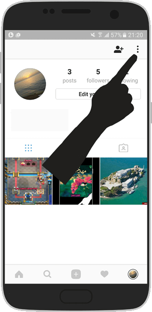 آموزش تصویری تعغیر رمز اینستاگرام - اندروید