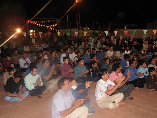 جشن بزرگ میلاد  آقا امام زمان (عج) در محله صادقیون رفسنجان  برگزار شد+ تصاویر