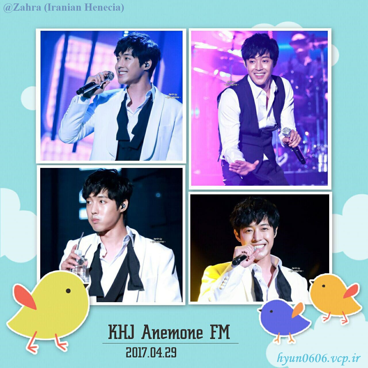 My Fanart from KHJ Anemone 2017 FM in Seoul