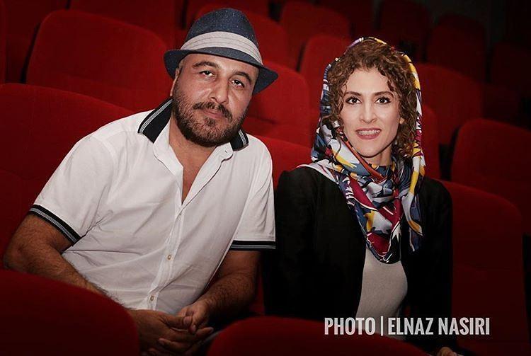 ویشکا آسایش و رضا عطاران در افتتاحيه پرديس سینمایی مگامال