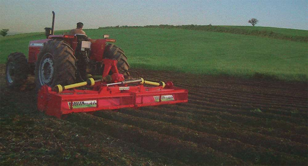 Rotocultivator For Heavy Tractors 75-130 HP