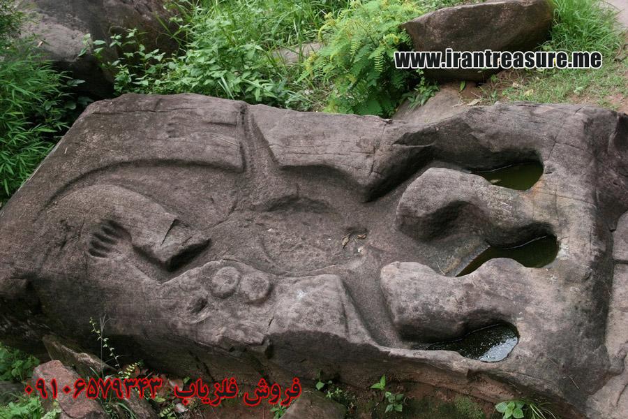 tem953 نشانه تمساح در دفینه یابی