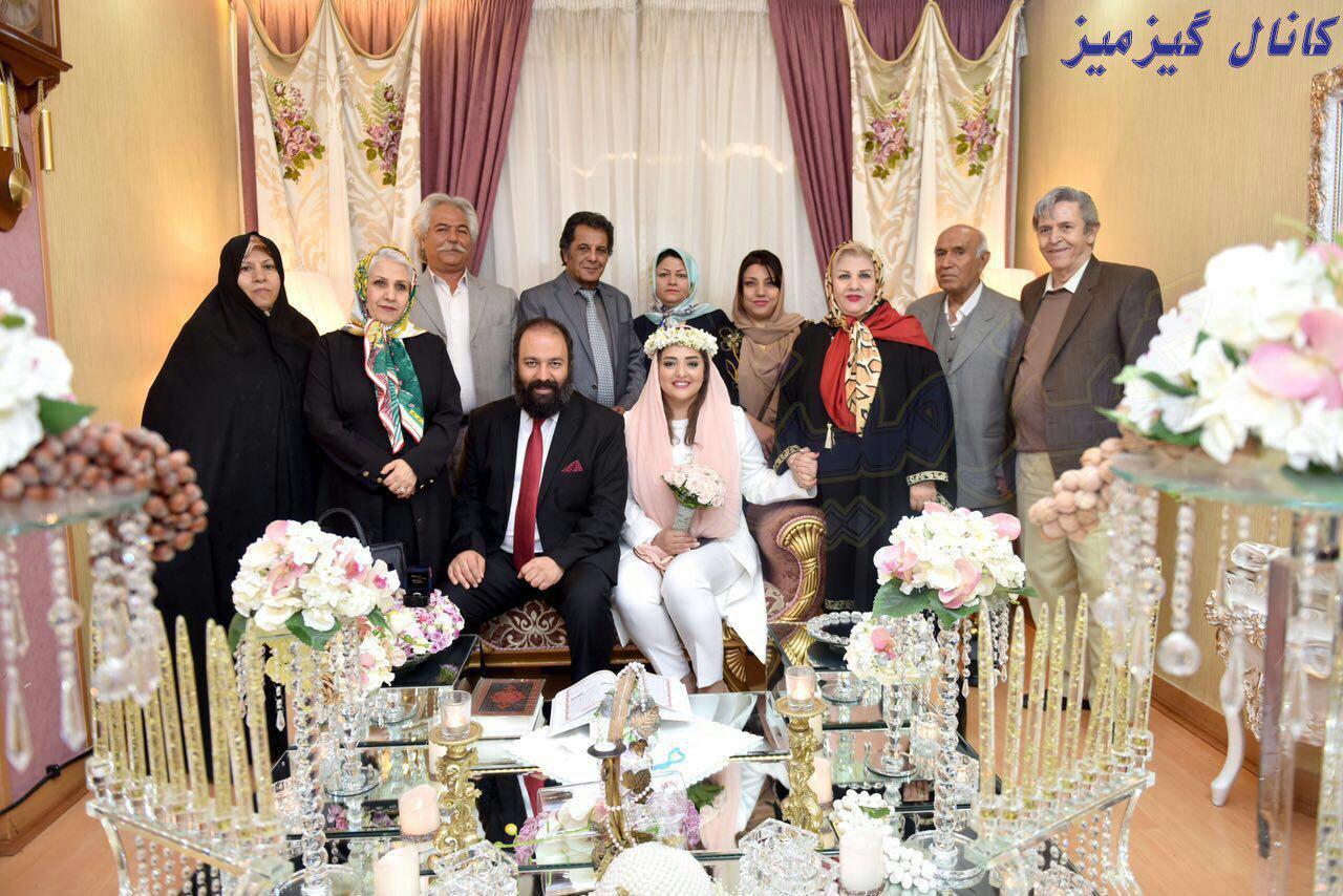 عقد نرگس محمدی علی اوجی ازدواج عکس