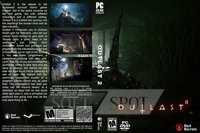 کاور بازی Outlast 2