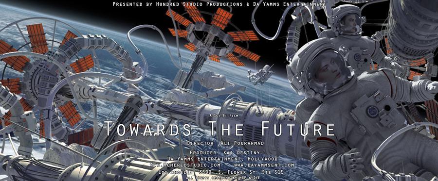 علی پوراحمد با فیلم علمی تخیلی Towards The Future به هالیوود می رود + بهمراه تصاویر