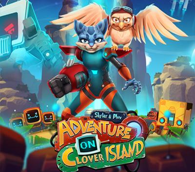 دانلود ترینر سالم بازی Skylar & Plux Adventure On Clover Island