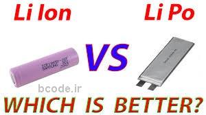 مقایسه باتری های لیتیومی یونی، لیتیومی پلیمری