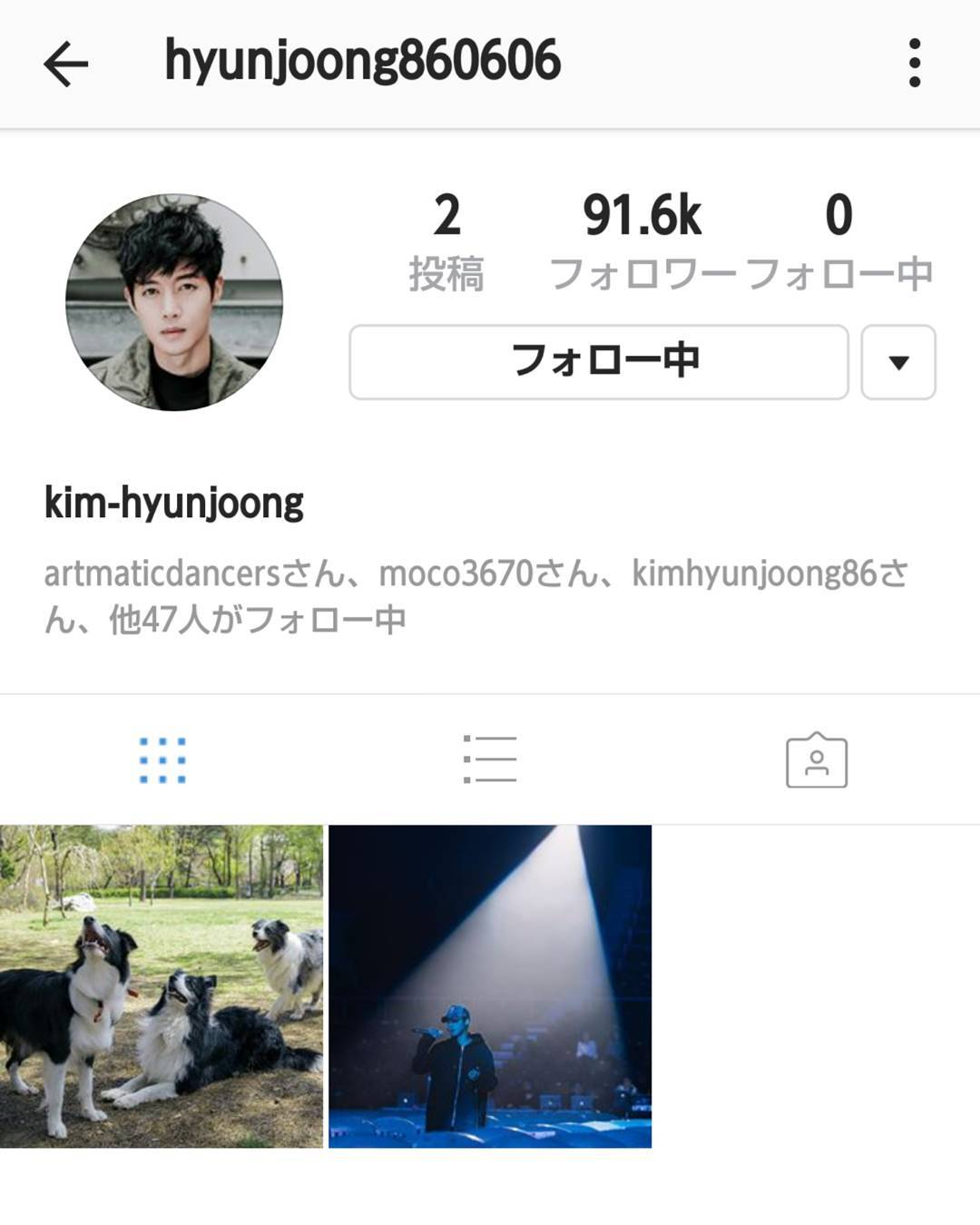 [Instagram] hyunjoong860606 Instagram Update [2017.05.28]