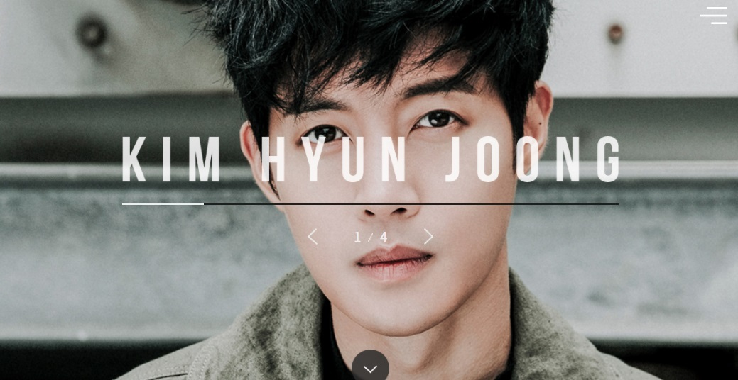 [Official Website+FB] KIM HYUN JOONG Official Website Renewal Open [2017.05.29]