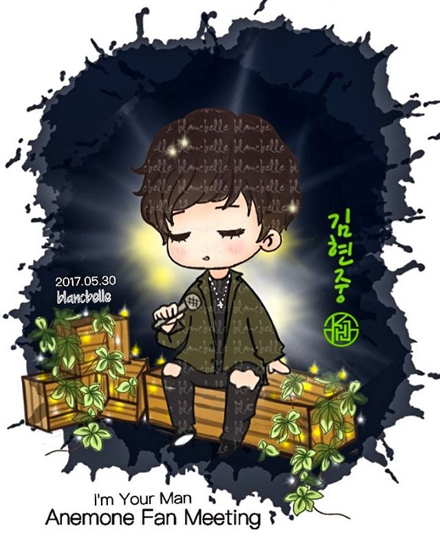 [blancbelle fanart] Kim Hyun Joong - I am Your Man, Anemone Fan Meeting [2017.05.30]